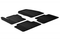 Ford C-Max II 2010-2015 car mats set anti-slip Rubbasol rubber (FOR2CMFR)
