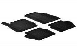 Ford Fiesta VI 2008-2017 3 & 5-door hatchback car mats set anti-slip Rubbasol rubber (FOR2FIFR)