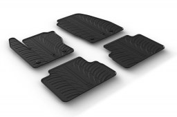 Ford C-Max II 2015-present car mats set anti-slip Rubbasol rubber (FOR3CMFR)