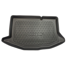 Ford Fiesta VI 2008-2013 3d & 5d trunk mat anti slip PE/TPE (FOR3FITM)
