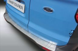 Ford Tourneo Courier 2014-> rear bumper protector ABS (FOR3TOBP)