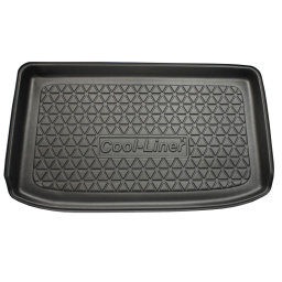 Ford Fiesta VI 2013- 3d & 5d trunk mat anti slip PE/TPE (FOR4FITM)
