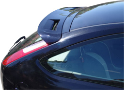 Ford Focus II 2004-2010 3d & 5d roof spoiler (FOR4FOSU)