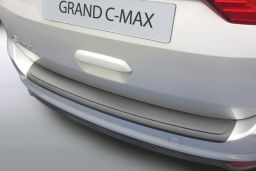 Ford Grand C-Max 2015-present rear bumper protector ABS (FOR4GCBP)