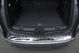 Ford S-Max II 2015-> rear bumper protector stainless steel high gloss (FOR4SMBP) (3)