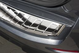 Ford S-Max II 2015-> rear bumper protector stainless steel high gloss (FOR4SMBP) (4)