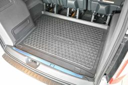 Ford Tourneo Custom 2012-present trunk mat / kofferbakmat / Kofferraumwanne / tapis de coffre (FOR5TOTM) (1)