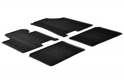 Hyundai i40 2011-present 4-door saloon car mats set anti-slip Rubbasol rubber (HYU1I4FR)