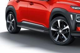 Side steps Hyundai Kona (OS) 2017-present brushed anthracite (HYU1KOSI-B) (2)