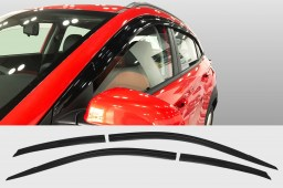 Hyundai Kona (OS) 2017-present side window deflectors set 4 pcs (HYU1KOSV)