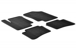 Hyundai i20 (PB) 2009-2014 3 & 5-door hatchback car mats set anti-slip Rubbasol rubber (HYU2I2FR)
