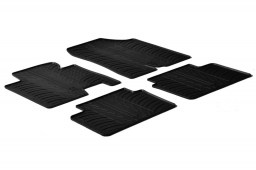 Hyundai i30 (GD) 2012-2015 3 & 5-door hatchback car mats set anti-slip Rubbasol rubber (HYU2I3FR)