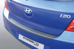 Hyundai i20 (PB) 2009-2012 3 & 5-door hatchback rear bumper protector ABS (HYU3I2BP)