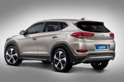 Hyundai Tucson (TL) 2015- skidplate rear in original anthracite colour (HYU3TUSP)