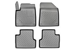 Car mats Jeep Cherokee V (KL) 2014-> Cool Liner set PE/TPE rubber (JEE1CHFM) (1)