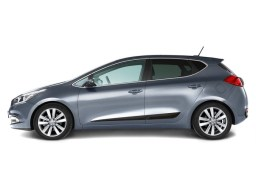 Kia cee'd JD '12- 5d & Sportswagon side protection set