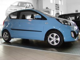 Kia Picanto TA '11- 3d side protection set