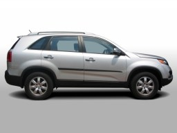 Kia Sorento XM '09- side protection set