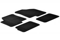 Kia Soul I (AM) 2009-2014 car mats set anti-slip Rubbasol rubber (KIA1SLFR)