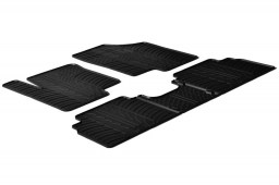 Kia Venga 2009-present 5-door hatchback car mats set anti-slip Rubbasol rubber (KIA1VEFR)