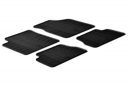 Kia Picanto (SA) 2004-2011 5-door hatchback car mats set anti-slip Rubbasol rubber (KIA2PIFR)