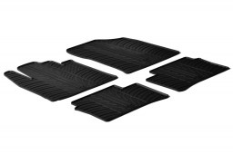 Kia Picanto (TA) 2011-2017 3 & 5-door hatchback car mats set anti-slip Rubbasol rubber (KIA3PIFR)