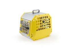 Transport box for dog or cat Kleinmetall Care2 L yellow (1)