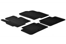 Mazda CX-5 (KE) 2012-2017 car mats set anti-slip Rubbasol rubber (MAZ1C5FR)