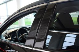 Mazda CX-5 (KF) 2017-present B-pillar cover set carbon 4 pcs (MAZ1C5M)