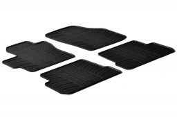 Mazda3 (BK) 2003-2009 4 & 5-door car mats set anti-slip Rubbasol rubber (MAZ1M3FR)