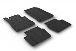 Mazda2 (DJ) 2015-present 5-door hatchback car mats set anti-slip Rubbasol rubber (MAZ2M2FR)