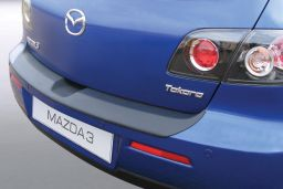 Mazda Mazda3 (BK) 2006-2009 5-door hatchback rear bumper protector ABS (MAZ4M3BP)