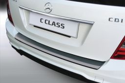 Mercedes-Benz C-Class estate (S204) 2011-2014 rear bumper protector ABS (MB12CKBP)