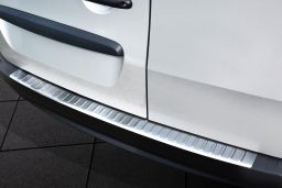 Mercedes-Benz Citan (W415) 2012-> rear bumper protector stainless steel (MB1CIBP) (1)