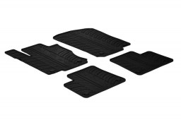 Mercedes-Benz GLE (W166) 2015-present car mats set anti-slip Rubbasol rubber (MB1GEFR)