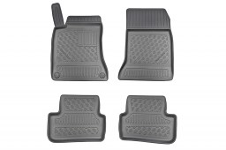 Mercedes-Benz CLA Shooting Brake (X117) 2015-2019 wagon Cool Liner car mat set PE/TPE rubber (MB2CAFM) (1)