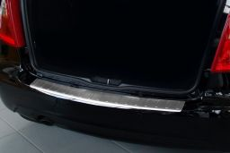 Mercedes-Benz A-Class (W169 facelift) 2008-2012 5-door hatchback rear bumper protector stainless steel (MB3AKBP) (3)