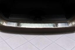 Mercedes-Benz B-Class (W246) 2011-> 5-door hatchback rear bumper protector stainless steel (MB3BKBP) (2)