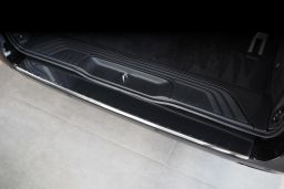 Rear bumper protector Mercedes-Benz Vito - V-Class (W447) 2014-present stainless steel high gloss (MB4VIBA) (1)