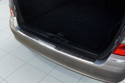 Mercedes-Benz E-Class estate (S211) 2002-2009 rear bumper protector stainless steel (MB5EKBP) (1)
