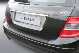 Mercedes-Benz C-Class estate (S204) 2007-2011 rear bumper protector ABS (MB8CKBP)