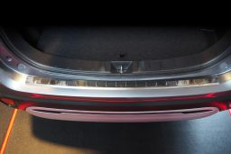 Rear bumper protector Mitsubishi Outlander III 2015-present stainless steel high gloss (MIT12OUBA) (1)