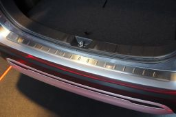 Rear bumper protector Mitsubishi Outlander III 2015-present stainless steel (MIT13OUBA) (1)