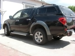 Mitsubishi L200 '06-'11 side protection set