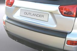 Mitsubishi Outlander II 2007-2012 rear bumper protector ABS (MIT1OUBP)