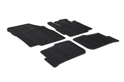 Mitsubishi Space Star II 2013-present 5-door hatchback car mats set anti-slip Rubbasol rubber (MIT1SSFR)