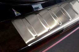 Mitsubishi ASX 2010-2016 rear bumper protector stainless steel (MIT3ASBP) (2)