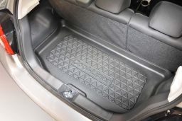 Boot mat Mitsubishi Space Star II 2016-> 5-door hatchback Cool Liner anti slip PE/TPE rubber (MIT3SPTM) (1)