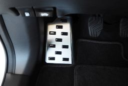 Foot rest trim Nissan Qashqai (J11) 2013-2017   stainless steel (NIS3QAFA) (1)