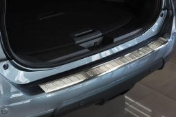Nissan X-Trail III (T32) 2013-2017 rear bumper protector stainless steel (NIS3XTBP) (1)